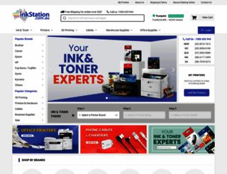 inkstation.com.au screenshot