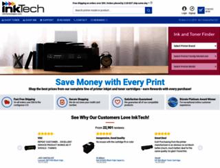 inktechnologies.com screenshot