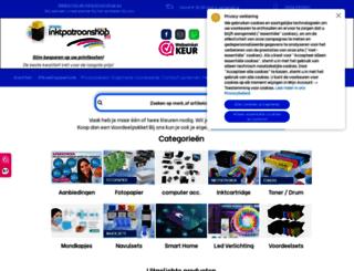 inktpatroonshop.nl screenshot