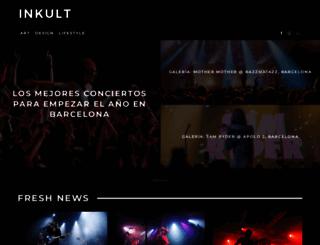 inkultmagazine.com screenshot