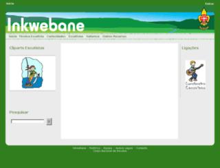 inkwebane.cne-escutismo.pt screenshot