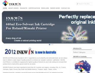 inkwin.com.au screenshot