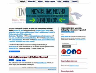 inkygirl.com screenshot