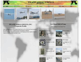 inlandaerial.com screenshot