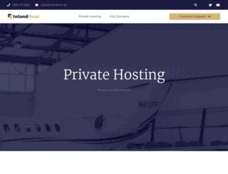 inlandhost.net screenshot