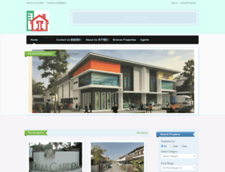 inlandhousing.com screenshot