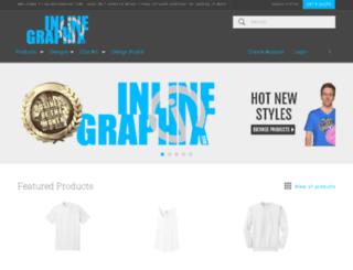 inlinegraphix.com screenshot