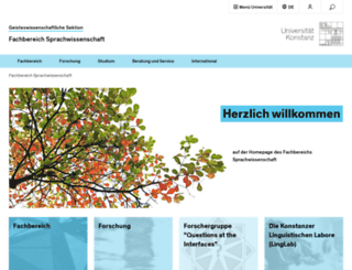 inlist.uni-konstanz.de screenshot