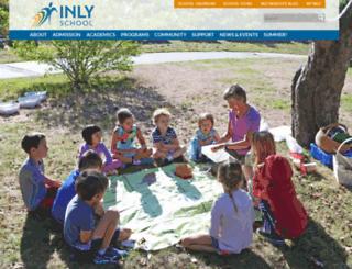 inlyschool.org screenshot