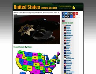 inmatelocator.us screenshot