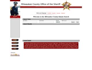inmatesearch.mkesheriff.org screenshot