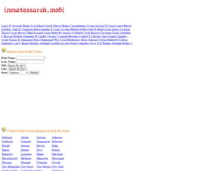 inmatesearch.mobi screenshot