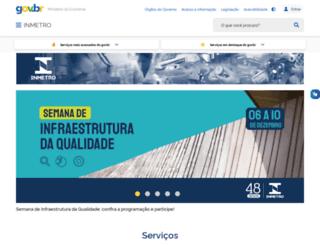 inmetro.gov.br screenshot