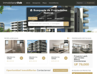 inmobiliariaclub.ponda.cl screenshot