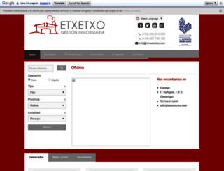 inmoetxetxo.com screenshot