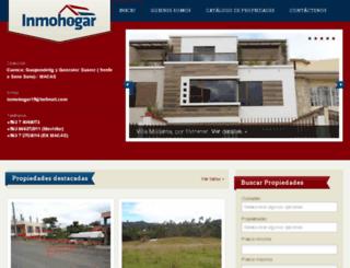 inmohogarcuenca.com screenshot