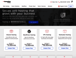 inmotionhosting.com screenshot