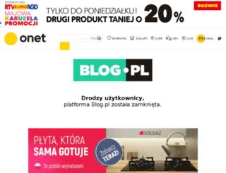 innaidziwna.piszecomysle.pl screenshot