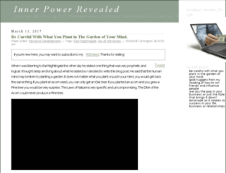 innerpowerrevealed.com screenshot