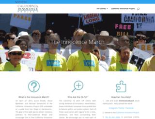 innocencemarch.com screenshot