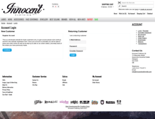 innocentclothingltd.com screenshot