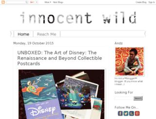 innocentwild.blogspot.com screenshot