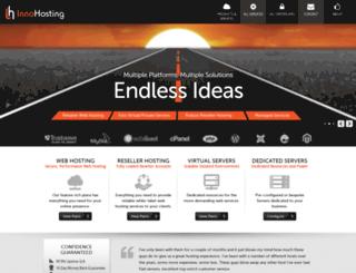innohosting.com screenshot