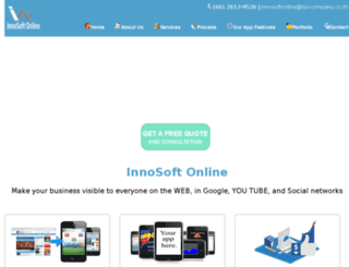 innosoftonline.com screenshot