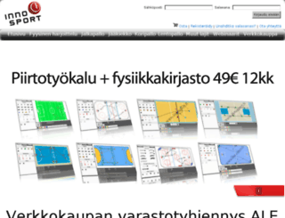 innosport.fi screenshot