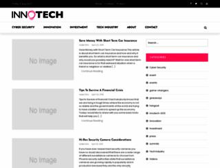 innotechsummit.com screenshot