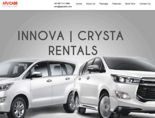 innovacarrentalchennai.com screenshot
