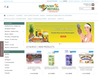 innovacionnatural.com screenshot