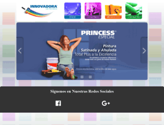 innovadoradepinturas.com.mx screenshot