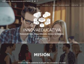 innovaeducativa.com.ec screenshot