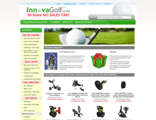 innovagolf.com screenshot