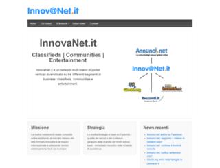 innovanet.it screenshot