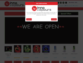 innovapours.com screenshot