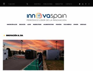 innovaspain.com screenshot