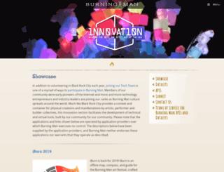 innovate.burningman.org screenshot