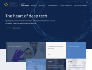 innovation.kaust.edu.sa screenshot