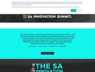 innovationsummit.co.za screenshot