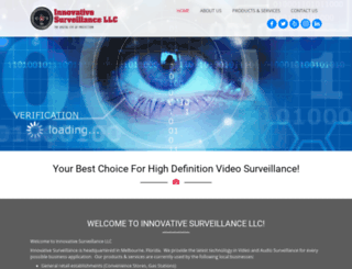 innovative-surveillance.com screenshot