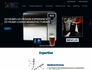 innovativedesignproducts.com screenshot