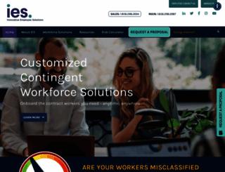 innovativeemployeesolutions.com screenshot