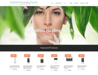 innovativehealingtouch.com screenshot