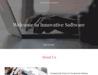 innovativesoftware.com screenshot