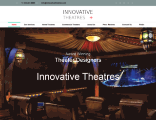 innovativetheatres.com screenshot