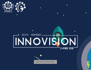 innovision.nitrkl.ac.in screenshot
