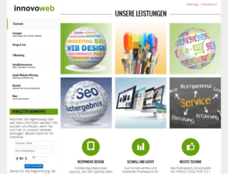 innovoweb.ch screenshot