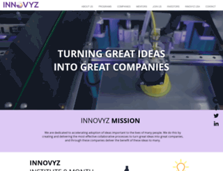 innovyzstart.com screenshot
